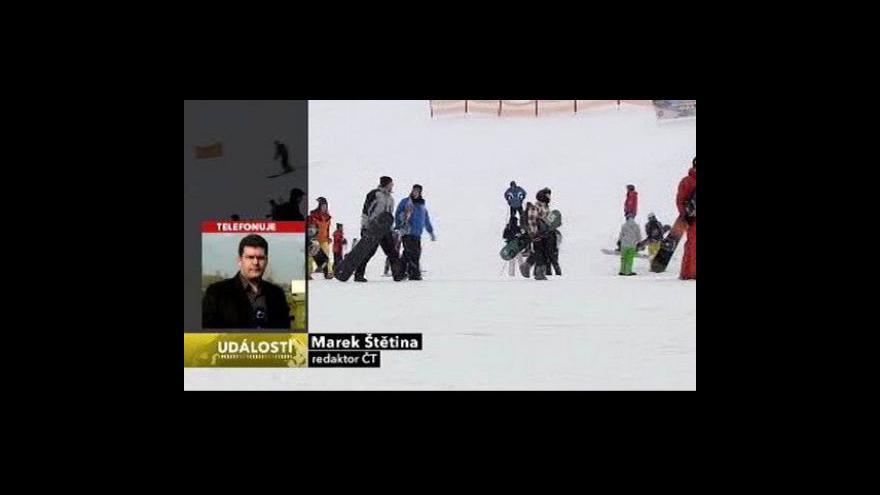 Video Telefonát Marka Štětiny