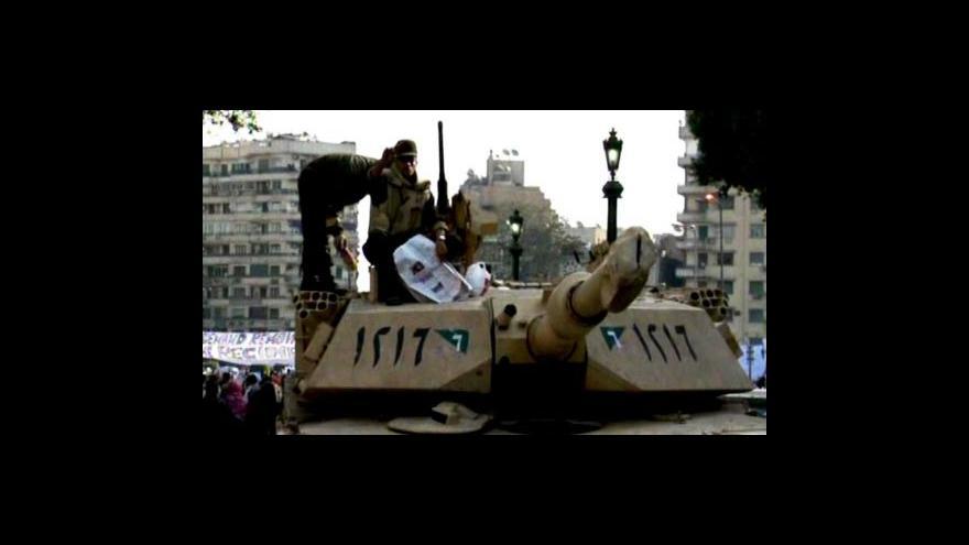 Video Egypt po pádu prezidenta Mubaraka