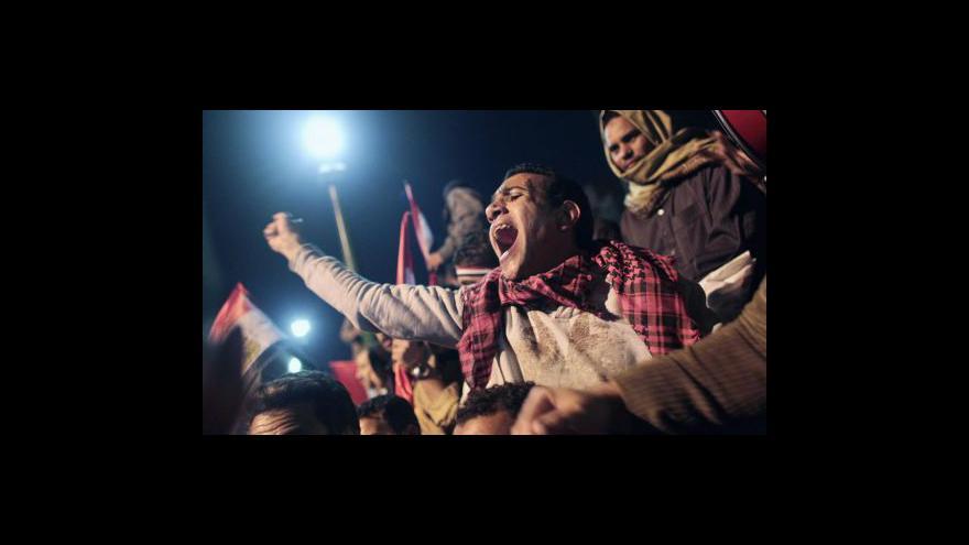 Video Mubarak neodstoupil, očekávají se další protesty