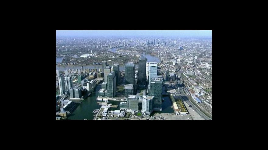 Video Britská bankovní daň