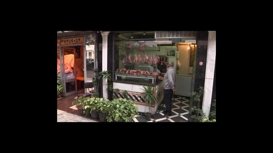 Video Zamrzlý obchod v Egyptě