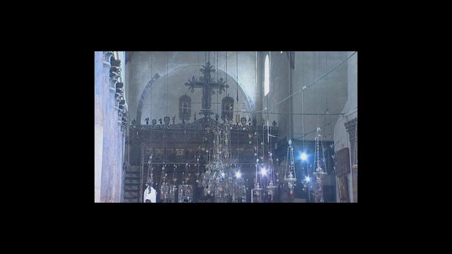 Video Chrám Narození Páně na seznam UNESCO?