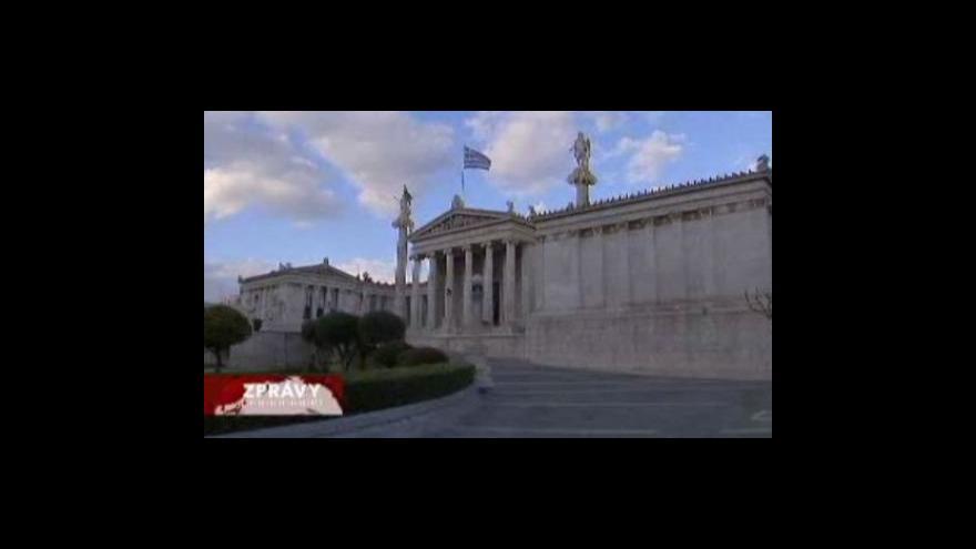 Video Řecko se podrobí kontrole hospodářství