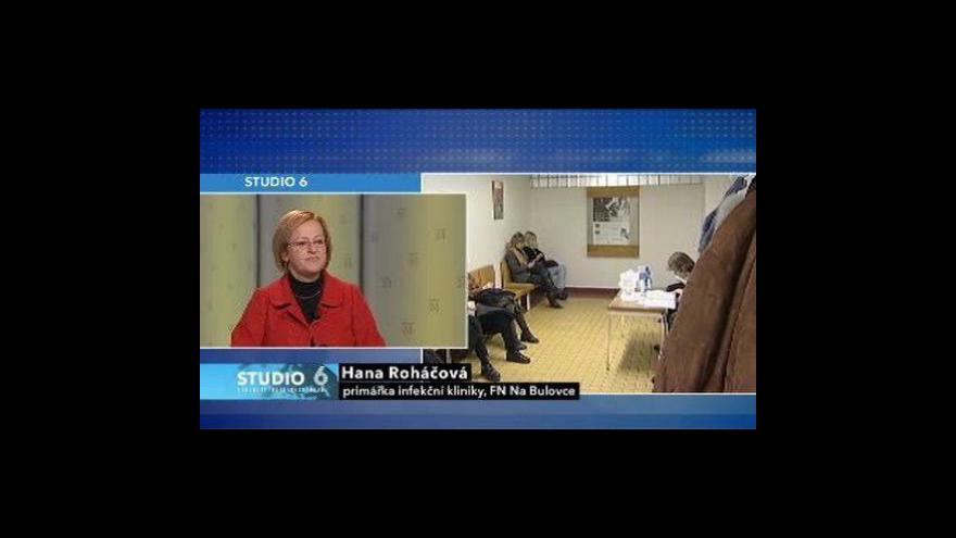 Video Studio 6 o chřipce