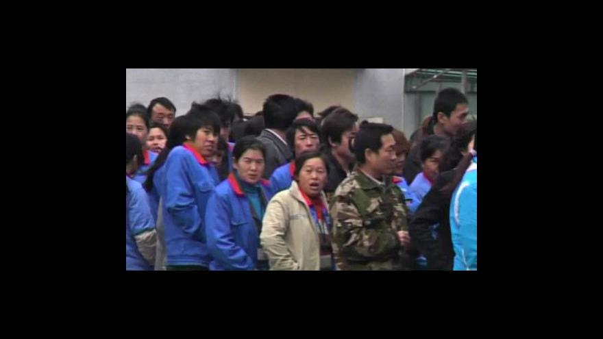 Video Čínské továrny