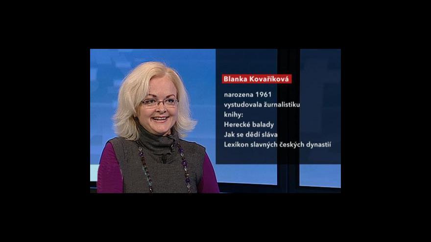 Video Rozhovor s Blankou Kovaříkovou