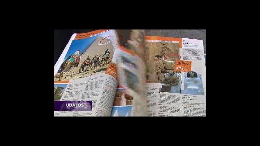 Video Turisté ruší zájezdy do Egypta