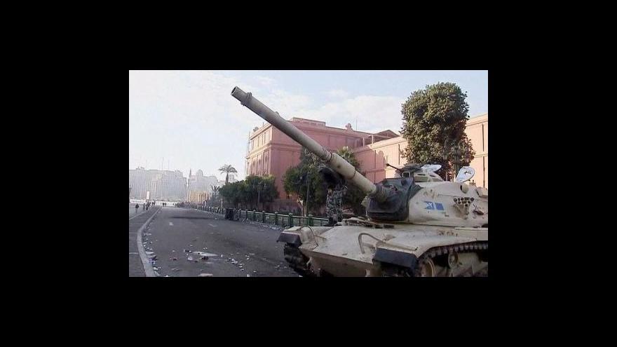 Video Mubarak jmenoval novou vládu