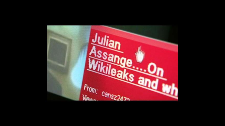 Video Wikileaks chce zapojit další média