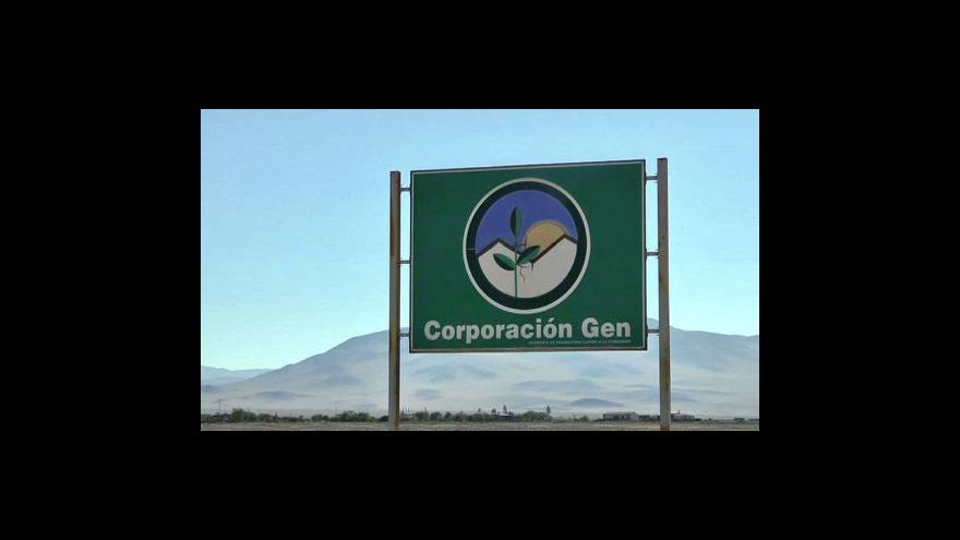 Video Robinsoni v Chile zkoušejí přežít