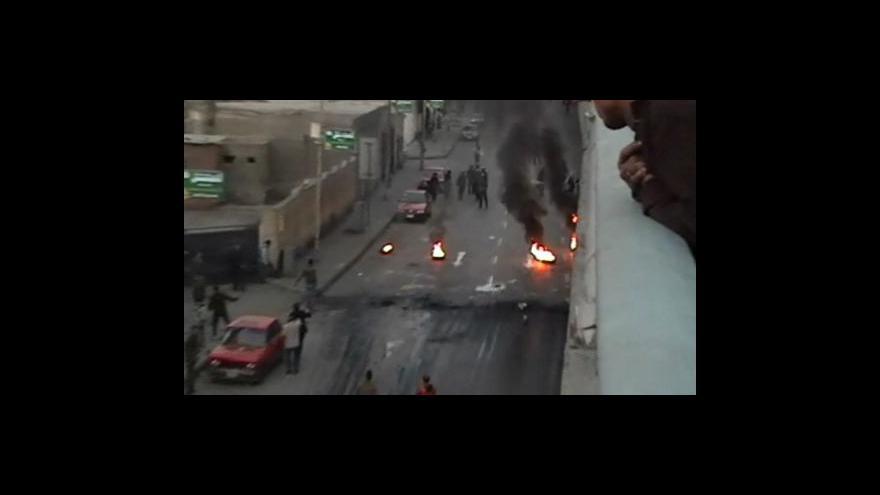 Video Reportáž o nepokojích v Egyptě