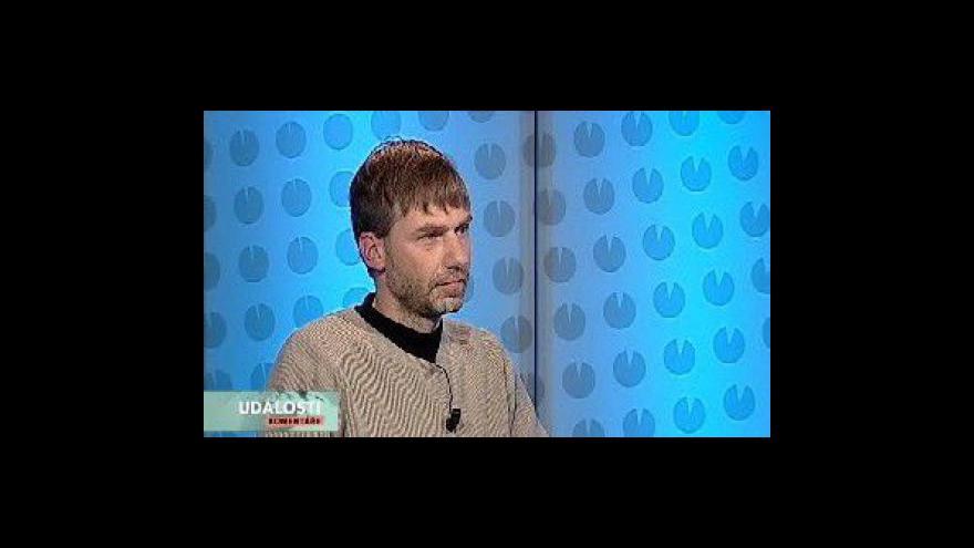 Video Rozhovor s porodníkem Michalem Márou v Událostech, komentářích