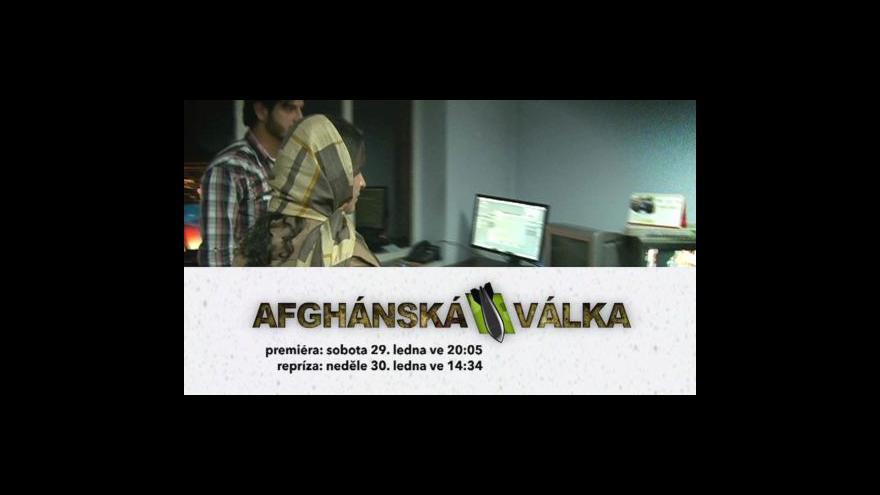 Video Bohumil Vostal o Fokusu ČT24 na téma Afghánistán