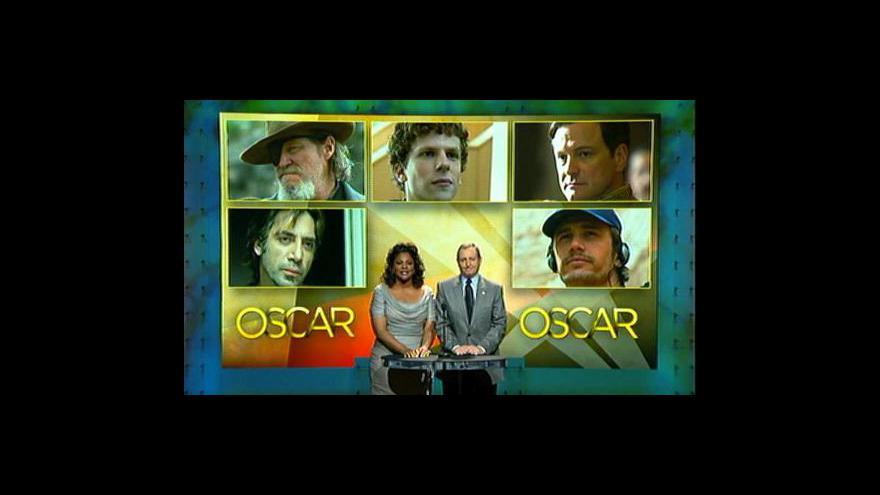 Video Vyhlášení nominací na Oscara