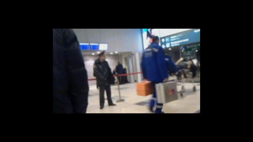 Video Události: Výbuch na letišti Domodědovo