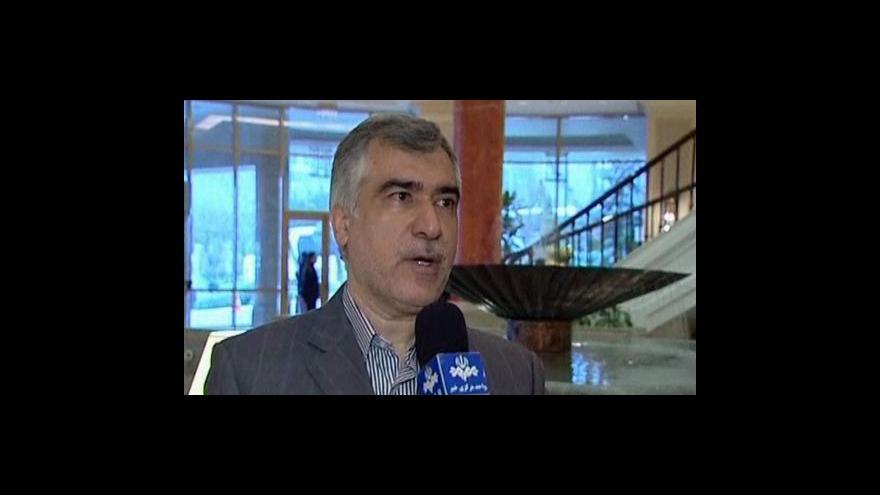 Video Íránci nechtějí jednat s USA