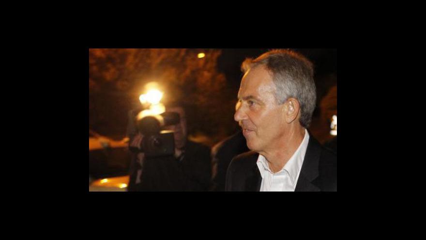 Video Studio ČT24 o Blairově výpovědi o invazi v Iráku