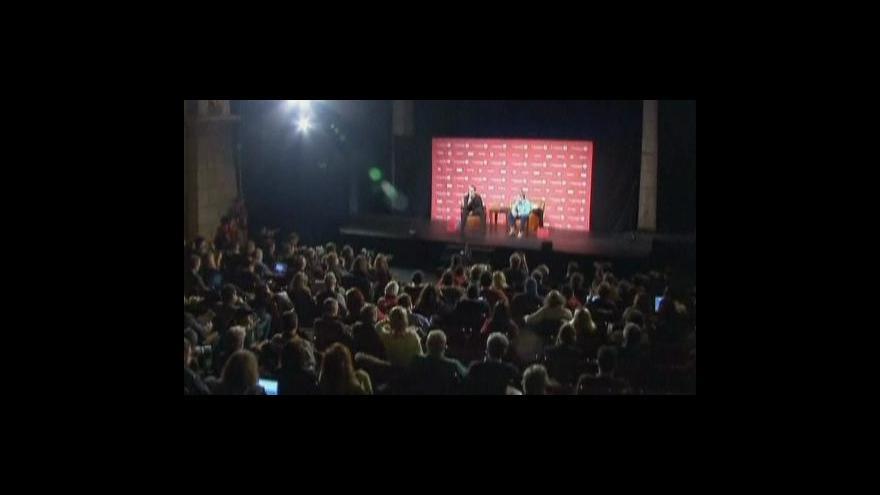 Video Telefonát Kryštofa Muchy ze Sundance