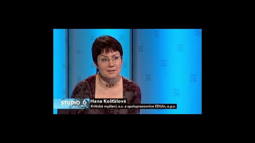 Video Rozhovor s Hanou Košťálovou