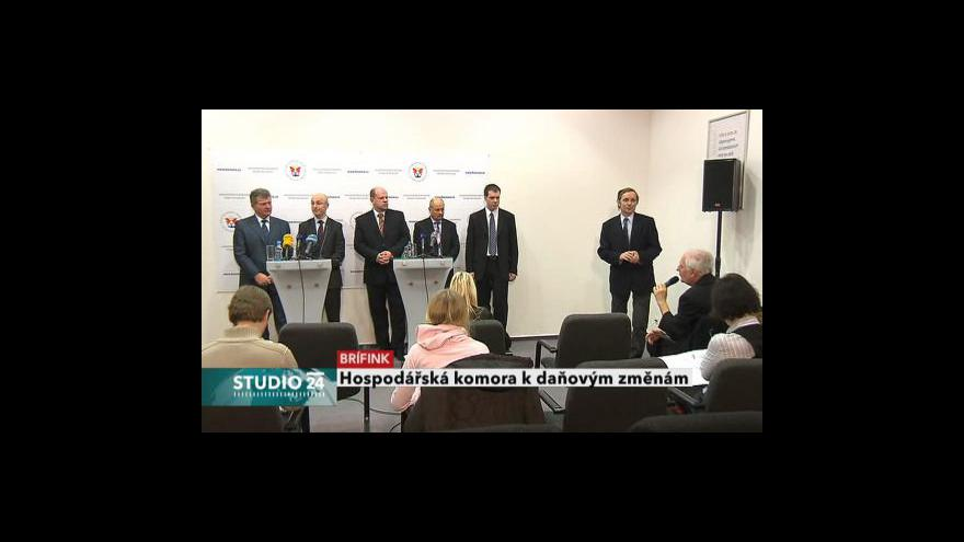 Video Brífink hospodářské komory