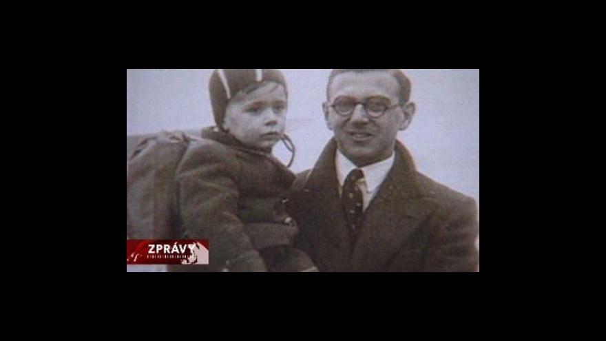 Video Sir Winton opět v Praze