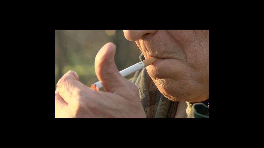 Video Kouření zabíjí muže dřív