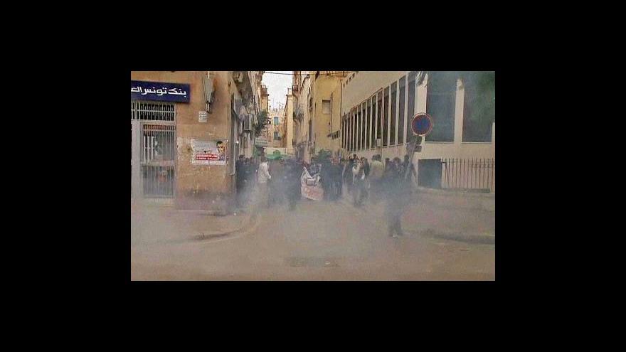 Video Narychlo slepená vláda klid Tunisku nepřinesla