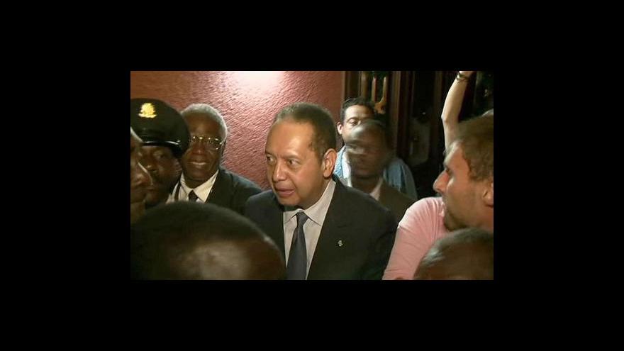 "Video \""Baby Doc\"" je zpátky na Haiti"