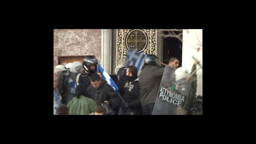 Video Střety kvůli řecko-tureckému plotu