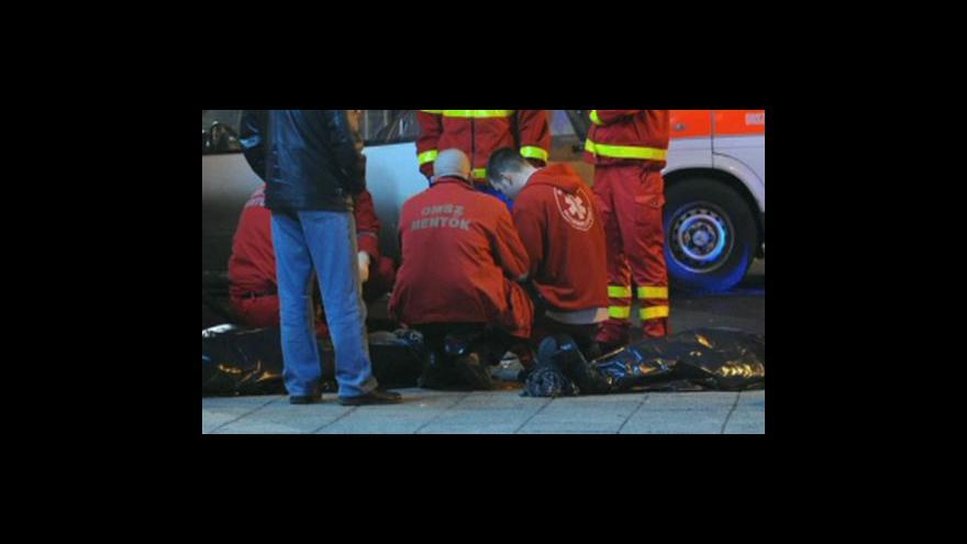 Video Neštěstí v Budapešti