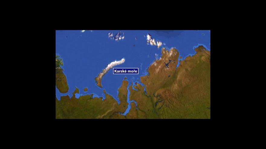Video Zájem o arktickou ropu