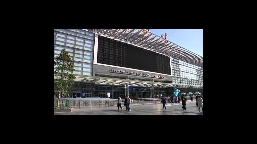 """Video Šanghajská \""""čekárna budoucnosti\"""""""