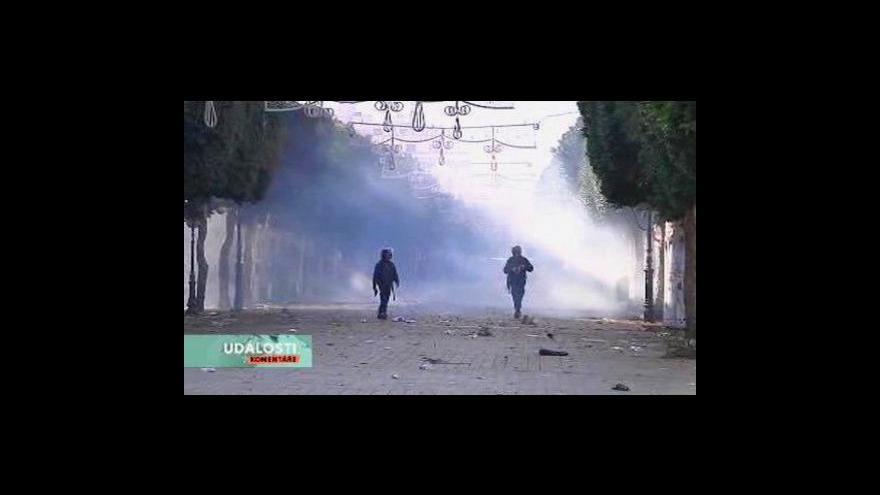 Video Události, komentáře o situaci v Tunisku