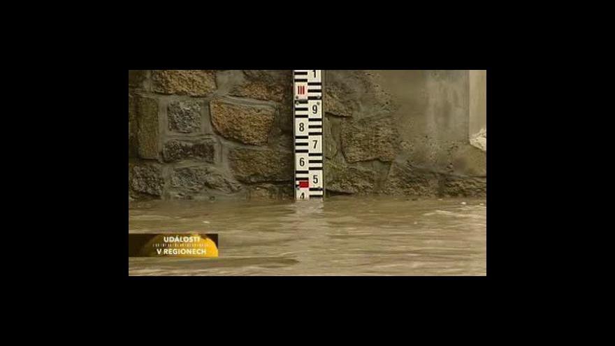 Video Povodňová situace v západních, severních a jižních Čechách