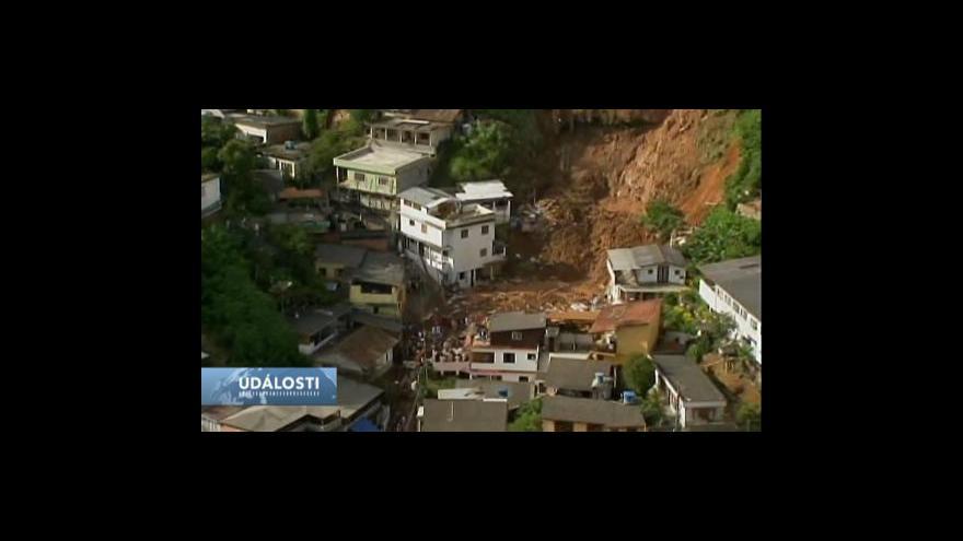 Video Povodně v Brazílii