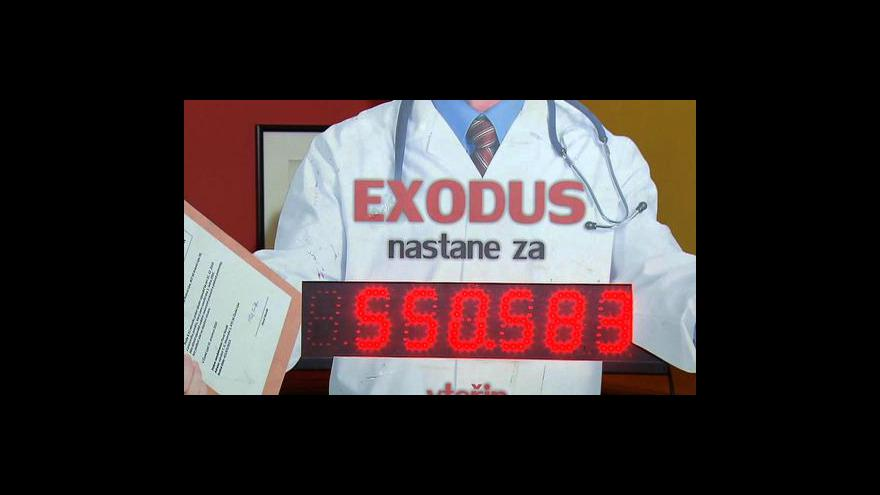 Video Brífink lékařských odborů k druhé vlně výpovědí