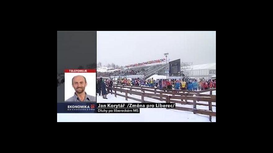 Video Primátor Liberce Jan Korytář ve Studiu ČT24