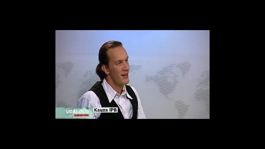 Video Adam Junek hostem Událostí, komentářů