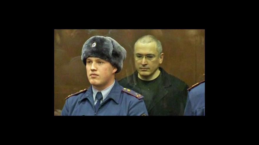 Video Chodorkovskij dostal dalších šest let