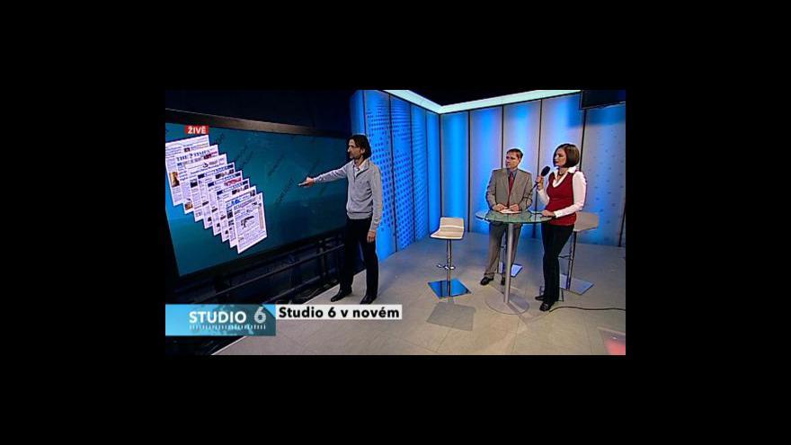 Video Roman Bradáč a Alan Záruba ve Studiu 6