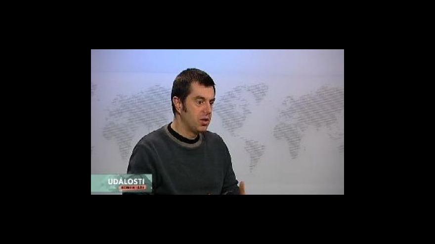 Video Teodor Marjanovič hostem Událostí, komentářů