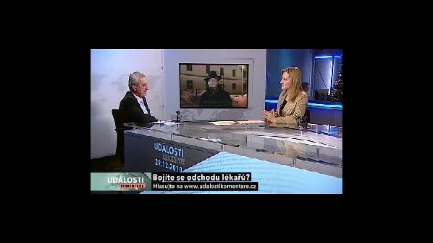 Video Rozhovor s Leošem Hegerem a Davidem Rathem v Událostech, komentářích