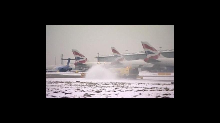 Video Evropská letiště už fungují, ale omezeně