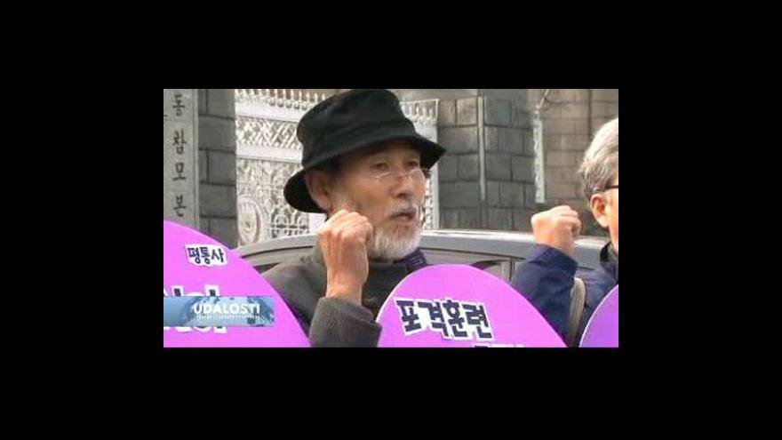 Video Na Korejském poloostrově se střílí