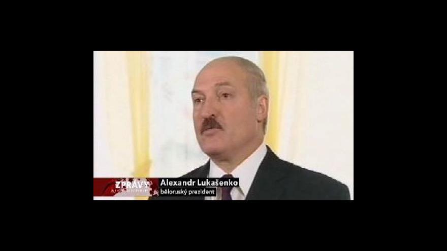 Video Lukašenko opět zvolen prezidentem Běloruska