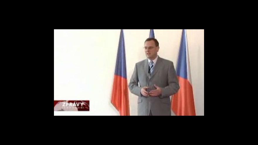 Video Premiér Nečas o možné korupci věděl už dříve
