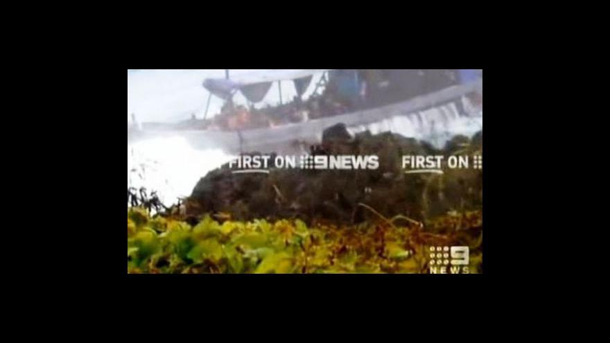 Video U Vánočního ostrova se utopily tři desítky imigrantů