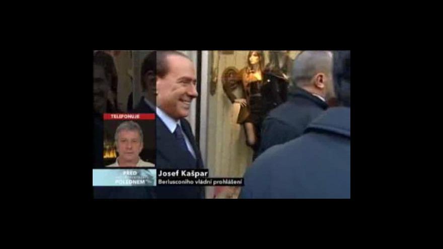 Video Telefonát Josefa Kašpara