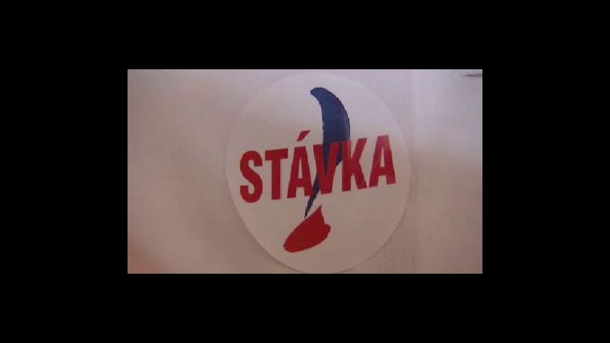 Video Stávka na Plzeňsku, Liberecku a Karlovarsku