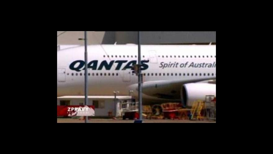 Video Qantas chce odškodné za vadné motory